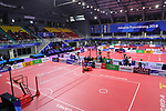 General view,<br /> AUGUST 24, 2018 - Sepak takroae : <br /> Men's Doubles Semi-final  match Thailand - Japan <br /> at Jakabaring Sport Center Ranau Hall <br /> during the 2018 Jakarta Palembang Asian Games <br /> in Palembang, Indonesia. <br /> (Photo by Yohei Osada/AFLO SPORT)