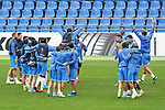 Getafe CF's players during training session. October 23,2019.(ALTERPHOTOS/Acero)