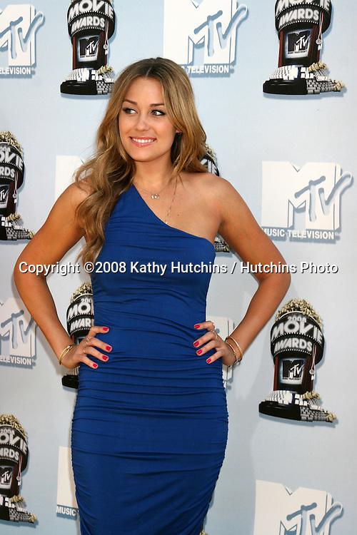 Lauren Conrad.MTV Movie Awards 2008.Universal City.Los Angeles,  CA.May 31, 2008.©2008 Kathy Hutchins / Hutchins Photo .