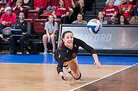 Stanford Volleyball W vs Texas NCAA Regional, December 9, 2017