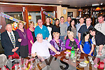 60th Birthday Party: Marian Enright, Ballyduff (centre) celebrating her 60th birthday with family & friends at McMunn's Bar, Ballybunion on Saturday night last.