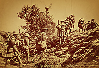 Scottish Troops advancing at the Battle of Arras 9th April 1917