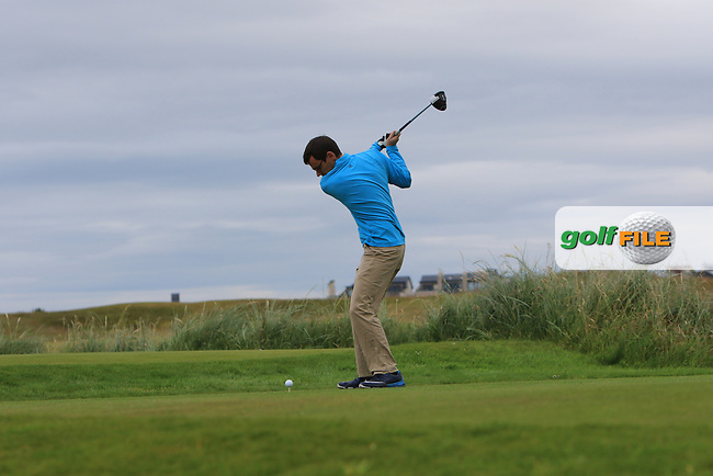 Ian Lynch (Rosslare) during Round 2 of the North of Ireland Amateur Open Championship 2019 at Portstewart Golf Club, Portstewart, Co. Antrim on Tuesday 9th July 2019.<br /> Picture:  Thos Caffrey / Golffile<br /> <br /> All photos usage must carry mandatory copyright credit (© Golffile | Thos Caffrey)