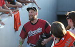 Sacramento River Cats&rsquo; Hunter Pence enters Greater Nevada Field in Reno, Nev., on Tuesday, July 26, 2016.  <br />Photo by Cathleen Allison