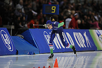 SPEED SKATING: SALT LAKE CITY: 21-11-2015, Utah Olympic Oval, ISU World Cup, 10.000m Men, Jorrit Bergsma (NED), ©foto Martin de Jong