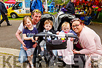 Enjoying the afternoon in the Town Park at the Féile na mBláth on Saturday<br /> L to r:  and Christina Lenihan, Samantha Lynch, Maurice, Ruby and Chantelle Lenihan Lynch from Athea