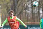 11.04.2018, Trainingsgelaende, Bremen, GER, 1.FBL, Training SV Werder Bremen<br /> <br /> im Bild<br /> Johannes Eggestein (Werder Bremen #24), <br /> <br /> Foto &copy; nordphoto / Ewert