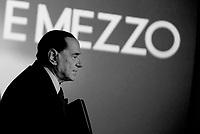 Silvio Berlusconi a Otto e Mezzo