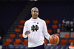 CHARLOTTESVILLE, VA - FEBRUARY 15: Notre Dame's Kristina Nelson. The University of Virginia Cavaliers hosted the University of Notre Dame Fighting Irish on February 15, 2018 at John Paul Jones Arena in Charlottesville, VA in a Division I women's college basketball game. Notre Dame won the game 83-69.