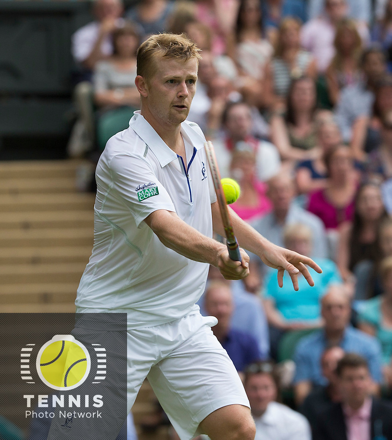 ANDREY GOLUBEV (KAZ)<br /> <br /> The Championships Wimbledon 2014 - The All England Lawn Tennis Club -  London - UK -  ATP - ITF - WTA-2014  - Grand Slam - Great Britain -  23rd June 2014. <br /> <br /> &copy; Tennis Photo Network