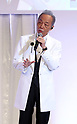 Shinzo Abe and singer Shinji Tanimura at annual LDP convention