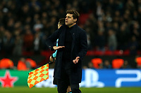 Tottenham Hotspur manager Mauricio Pochettino during Tottenham Hotspur vs Borussia Dortmund, UEFA Champions League Football at Wembley Stadium on 13th February 2019
