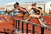 SAN ANTONIO, TX - MARCH 14, 2008: UTSA Relays Track & Field Meet - Day 1 at Jerry Comalander Stadium. (Photo by Jeff Huehn)