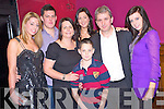 Pat Sheehan, Ardagh, Loretto ROad, Killarney, pictured with his wife Eileen, children Aisling, Sinead, Niamh, Pat and Cian as he celebrated his 50th birthday in McSorleys Bar, Killarney on Friday night.