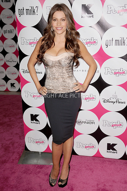 WWW.ACEPIXS.COM . . . . . .May 19, 2011...New York City....Sofia Vergara attends the People En Espanol 50 Most Beautiful event at Guastavino's on May 19,  2011 in New York City....Please byline: KRISTIN CALLAHAN - ACEPIXS.COM.. . . . . . ..Ace Pictures, Inc: ..tel: (212) 243 8787 or (646) 769 0430..e-mail: info@acepixs.com..web: http://www.acepixs.com .