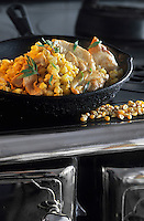 """Amérique/Amérique du Nord/Canada/Quebec/La Baie : Perdrix au  maïs lessivé - Recette amérindienne de Michel Lambert chef de l'auberge """"La Maison de la Rivière"""""""