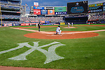 General view, SEPTEMBER 13, 2015 - MLB : Masahiro Tanaka of the New York Yankees pitches before the second inning during the Major League Baseball game against the Toronto Blue Jays at Yankee Stadium in the Bronx, New York, United States. (Photo by Hiroaki Yamaguchi/AFLO)