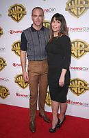 29 March 2017 - Las Vegas, NV - Patty Jenkins, Chris Pine. 2017 Warner Brothers The Big Picture Presentation at CinemaCon at Caesar's Palace.  Photo Credit: MJT/AdMedia