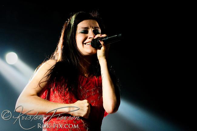 Flyleaf perform at Mohegan Sun Arena