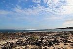 Coastline near Majanicho on north coast of Fuerteventura, Canary Islands, Spain