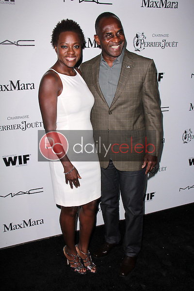 Viola Davis, Julius Tennon<br />