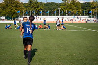 Kansas City, MO - Wednesday August 16, 2017: Sydney Leroux Dwyer during a regular season National Women's Soccer League (NWSL) match between FC Kansas City and the Orlando Pride at Children's Mercy Victory Field.