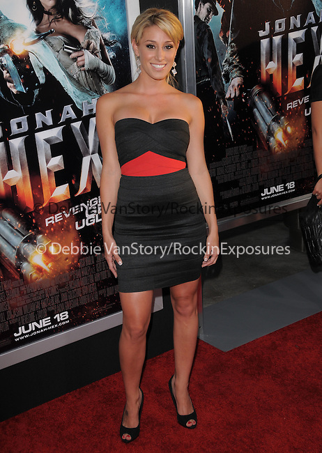 Vienna Girardi  at the Warner Bros. Pictures Special Screening of Jonah Hex in Hollywood, California on June 17,2010                                                                               © 2010 Debbie VanStory / Hollywood Press Agency