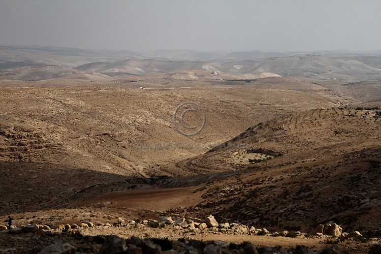 South Hebron hills, Masafer Yata, August 2013.