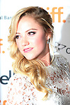 Maika Monroe attending the The 2012 Toronto International Film Festival.Red Carpet Arrivals for 'At Any Price' at the Princess of Wales Theatre in Toronto on 9/9/2012