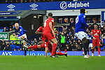 Steven Naismith of Everton scores the opening goal - Everton vs. Leicester City - Barclay's Premier League - Goodison Park - Liverpool - 22/02/2015 Pic Philip Oldham/Sportimage