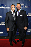 Joe Torre and Former New York Yankee and Honoree Jorge Posada at the 11TH ANNIVERSARY OF THE JOE TORRE SAFE AT HOME FOUNDATION HELD A CHELSEA PIERS SIXTY, NY