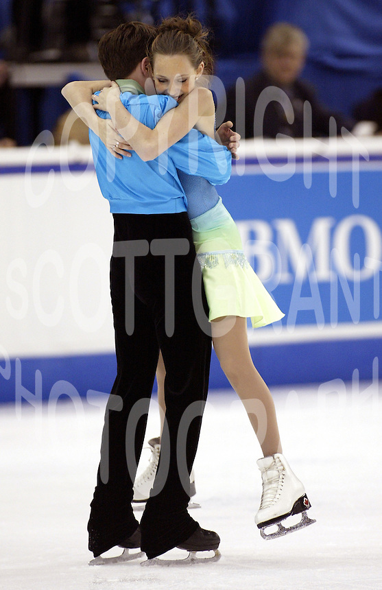 Tessa Virtue and Scott Moir Canada 2003 . Photo F. Scott Grant