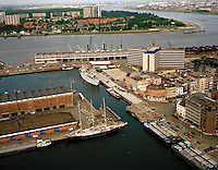 Juli 1996. Eilandje in Antwerpen.