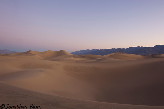 Mesquite Flat Dunes at Dawn, Death Valley