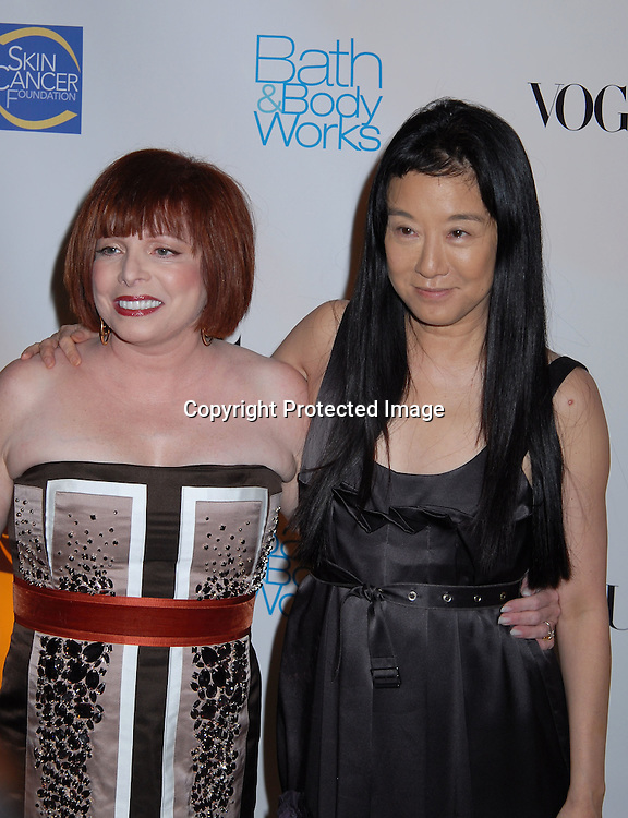 Dr Patricia Wexler and Vera Wang..at The Skin Cancer Foundation's Annual Skin Sense Award..Gala on October 11, 2006 at The Pierre Hotel...Robin Platzer, Twin Images