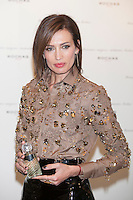 Model Nieves Alvarez poses during the Rochas perfume Christmas presentation in Madrid, Spain. December 03, 2014. (ALTERPHOTOS/Victor Blanco) /NortePhoto.com