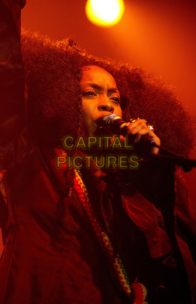 ERYKAH BADU.Heineken Music Hall.Amsterdam, 11th November 2003.www.capitalpictures.com.sales@capitalpictures.com.©Capital Pictures