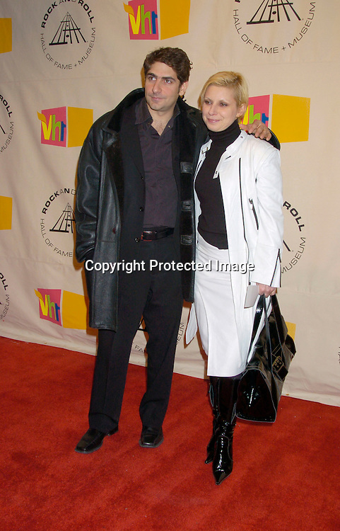 Michael Imperioli and wife Victoria ..at the 2004 Rock and Roll Hall of Fame Award Ceremony on March 15, 2004 at the Waldorf Astoria Hotel in New York City. Photo by Robin Platzer, Twin Images
