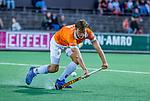 AMSTELVEEN - Jorrit Croon (Bldaal)  tijdens de play-offs hoofdklasse  heren , Amsterdam-Bloemendaal (0-2).    COPYRIGHT KOEN SUYK