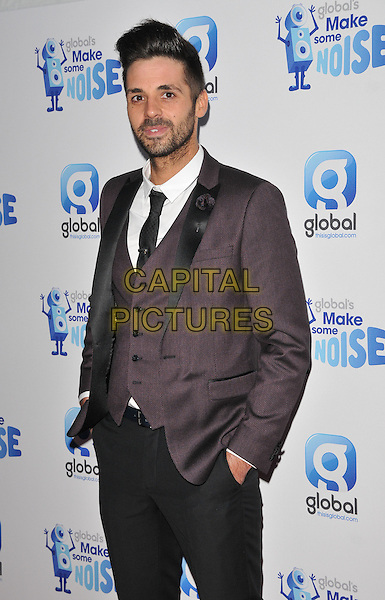 Ben Haenow attends the Global Radio's Make Some Noise Night Gala, Supernova, Embankment Gardens, London, England, UK, on Tuesday 24 November 2015. <br /> CAP/CAN<br /> &copy;CAN/Capital Pictures