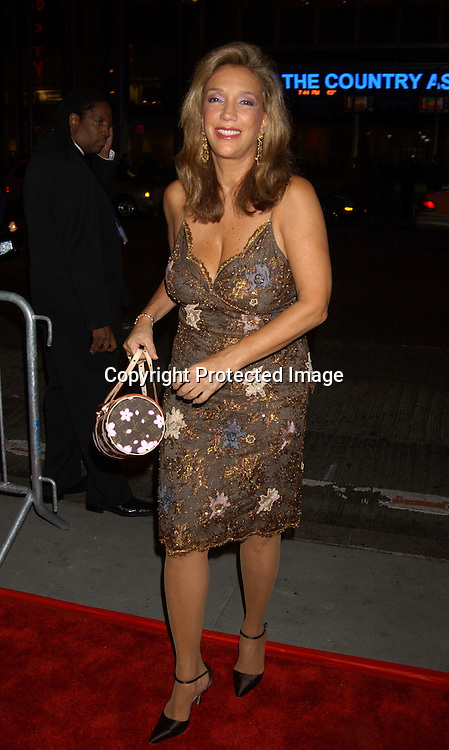 ..Denise Rich..at  Sinatra: His Voice, His World , His Way, Gala opening night at Radio City Music Hall on October 14, 2003 in New York City. Photo by Robin Platzer, Twin Images