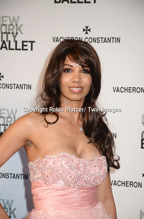 Xavieria Batista attends the New York City Ballet Spring 2013  Gala on May 8, 2013 at The David H Koch Theater in LIncoln Center in New York City.