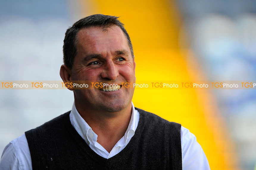 Barnet Manager Martin Allen during Portsmouth vs Barnet, Sky Bet League 2 Football at Fratton Park, Portsmouth, England on 12/09/2015
