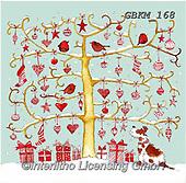 Kate, CHRISTMAS SANTA, SNOWMAN, WEIHNACHTSMÄNNER, SCHNEEMÄNNER, PAPÁ NOEL, MUÑECOS DE NIEVE, paintings+++++Christmas page 53,GBKM168,#x#
