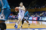 31 December 2015: Duke's Angela Salvadores (ESP). The Duke University Blue Devils hosted the University of North Carolina Wilmington Seahawks at Cameron Indoor Stadium in Durham, North Carolina in a 2015-16 NCAA Division I Women's Basketball game. Duke won the game 78-56.
