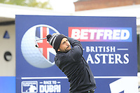 Alexander Levy (FRA) during the Hero Pro-am at the Betfred British Masters, Hillside Golf Club, Lancashire, England. 08/05/2019.<br /> Picture Fran Caffrey / Golffile.ie<br /> <br /> All photo usage must carry mandatory copyright credit (&copy; Golffile | Fran Caffrey)