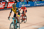 Amund Grøndahl JANSEN from Norway of Team LottoNL-Jumbo finishing 16th after the 2018 Paris-Roubaix race, Velodrome Roubaix, France, 8 April 2018, Photo by Thomas van Bracht / PelotonPhotos.com | All photos usage must carry mandatory copyright credit (Peloton Photos | Thomas van Bracht)