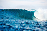 INDONESIA, Mentawai Islands, Kandui Resort, shot of a wave at Bankvaults