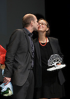 SEptember 3,, 2012 - Montreal (Qc) CANADA -  <br />  Montreal World Film Festival closing ceremonies -  -  Gerhard Ertl and Sabine Hiebler get the Public Award for the most popular film of the festival : COMING OF AGE (ANFANG 80)