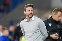 Leeds United manager Thomas Christiansen during the Sky Bet Championship match between Cardiff City and Leeds United at the Cardiff City Stadium, Cardiff, Wales on 26 September 2017. Photo by Mark  Hawkins / PRiME Media Images.